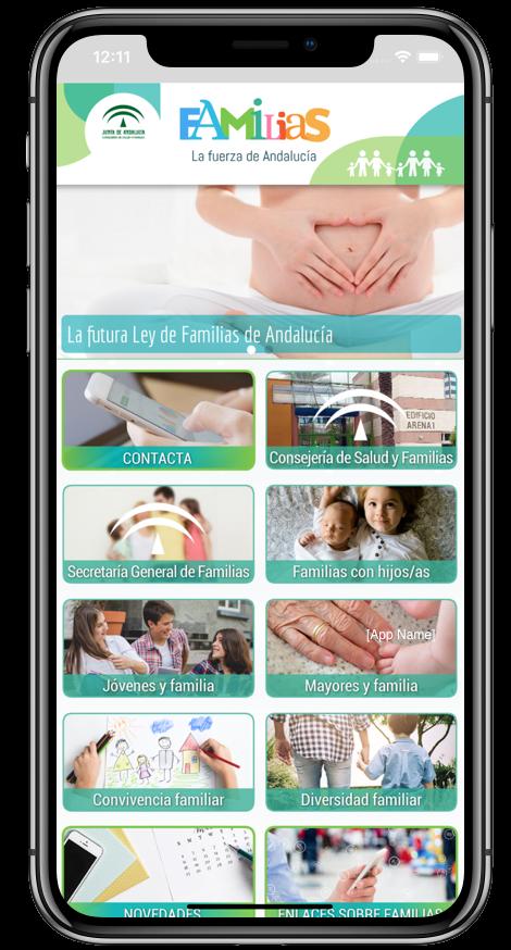 Familias, la fuerza de Andalucía