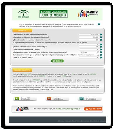 Acceder a la versión web del Simulador
