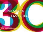 Memoria anual EASP 2014