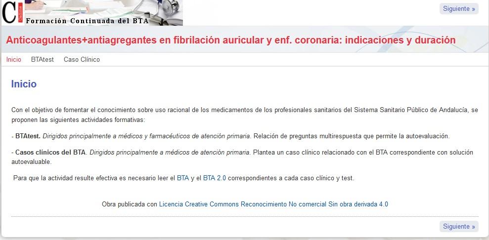 Salud presenta una nueva actividad formativa online sobre uso racional de medicamentos