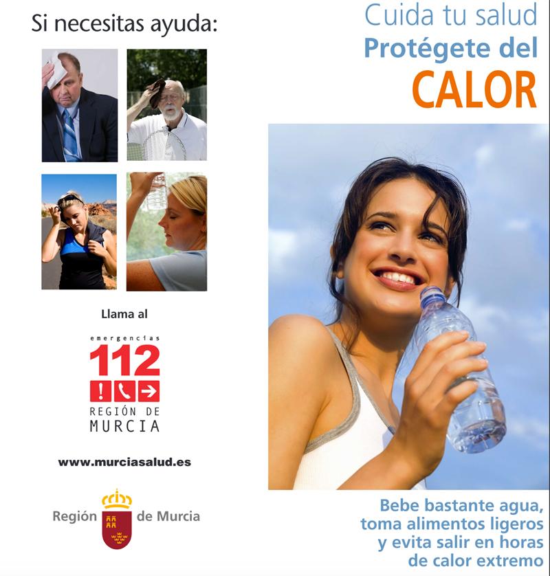 Protégete del calor. Región de Murcia