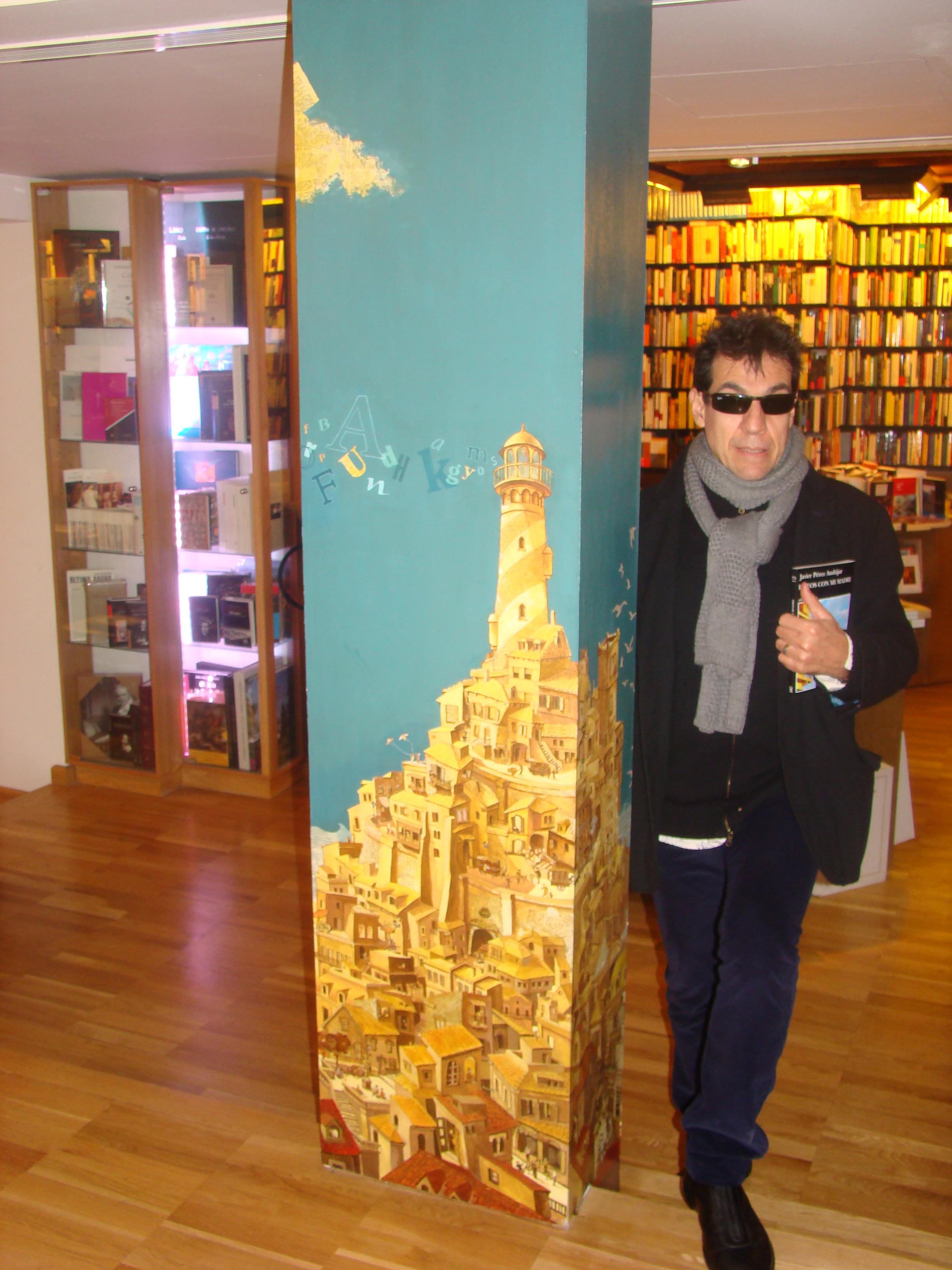 B en La Biblioteca de Babel