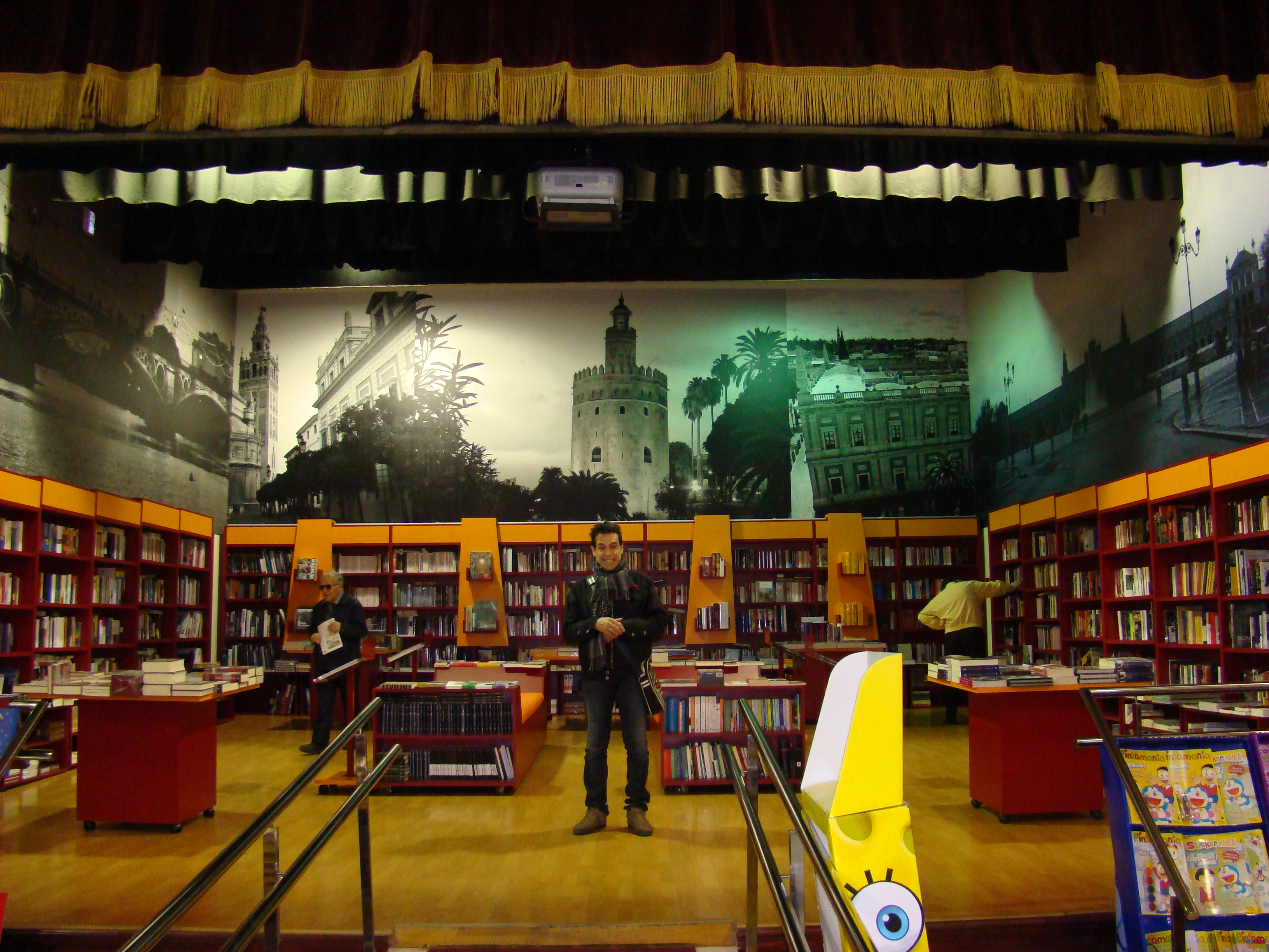 B en Librería BETA-Sevilla