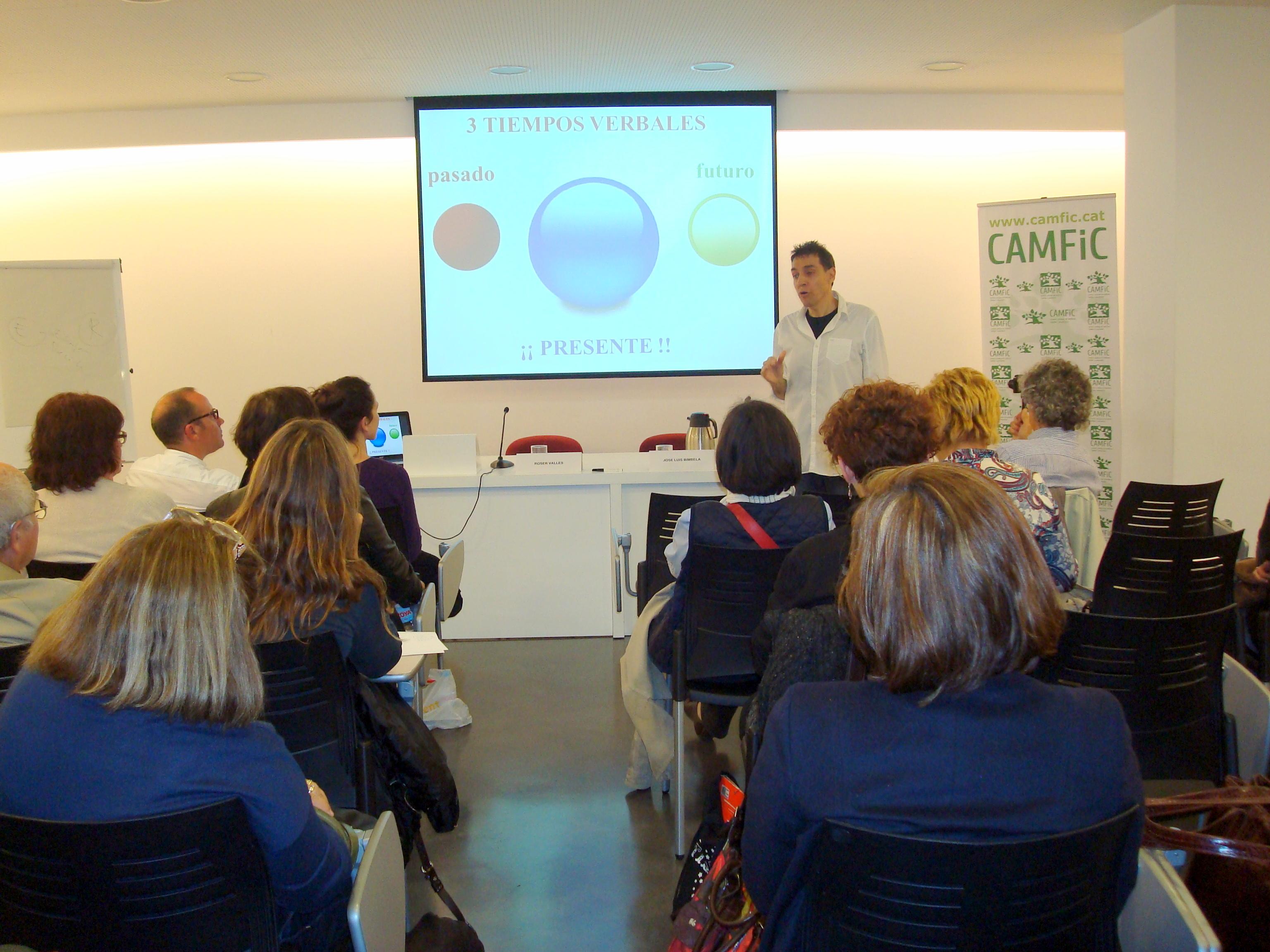 Emotiva presentación en Barcelona
