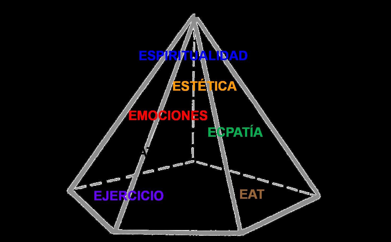 Nueva pirámide la salud 2020