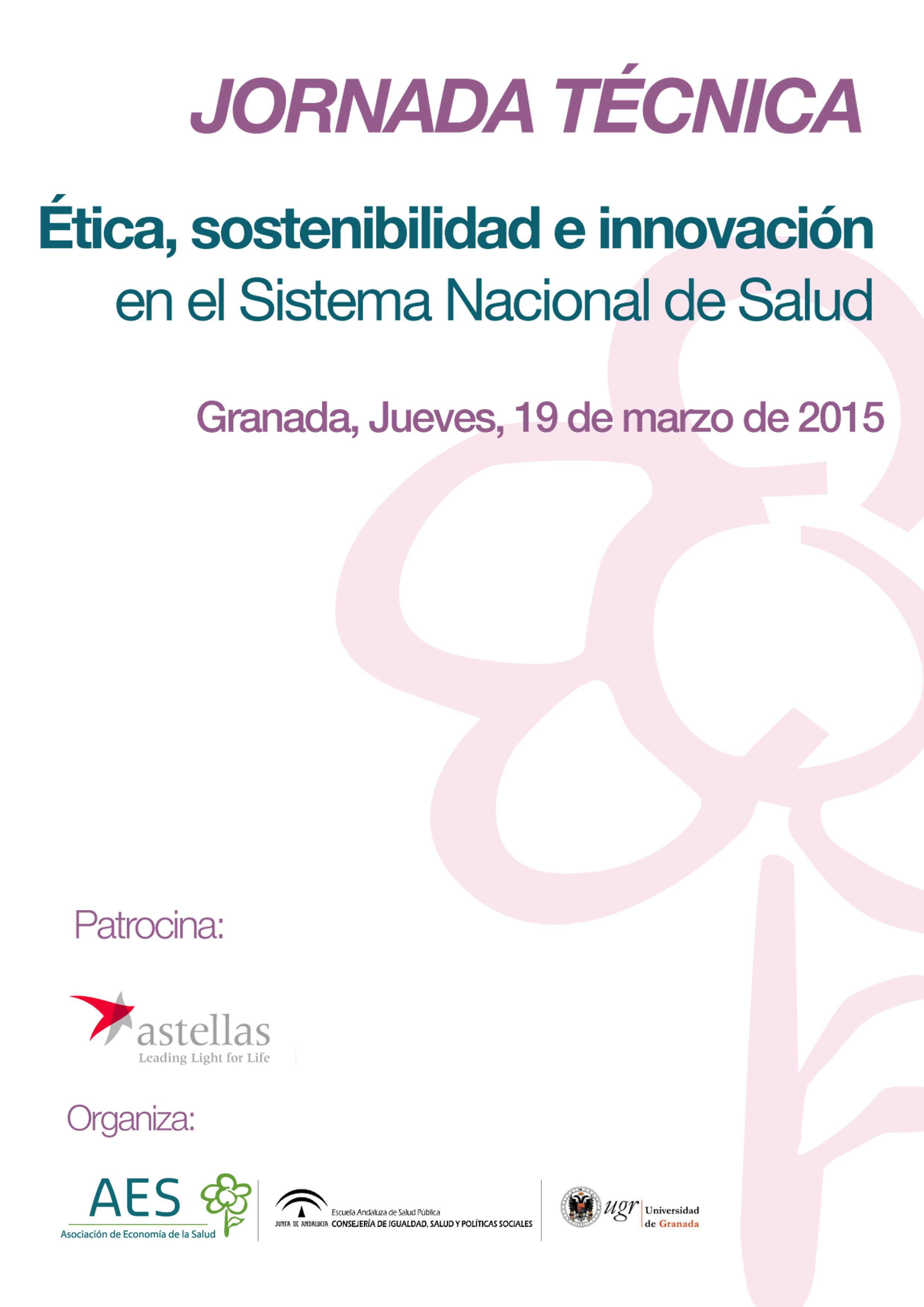 A Debate En Granada Los Conflictos Entre Eficiencia Y Justicia En El Sistema De Salud Escuela Andaluza De Salud Pública