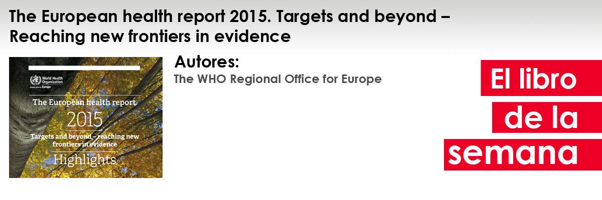 ellibrodelasemana_european_health_report2015