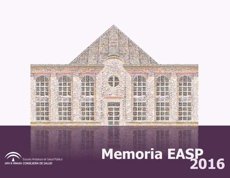 Memoria anual EASP 2016