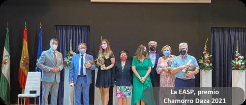 La EASP premio Chamorro Daza 2021