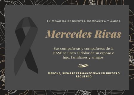 Fallecimiento Mercedes Rivas